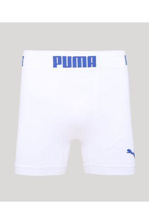 PUMA Homem Cueca Boxer - Cueca Boxer Microfibra Boxer Branca