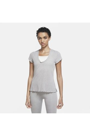Nike Camiseta Yoga Feminina