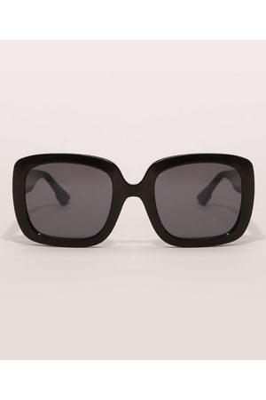 YESSICA Mulher Óculos de Sol - Óculos de Sol Quadrado Feminino