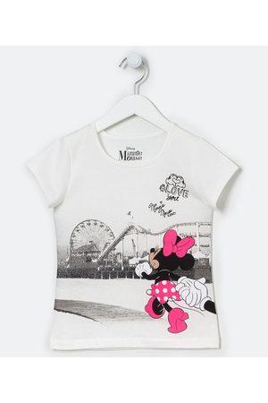 Minnie Blusa Infantil Minnie - Tam 2 a 10 anos | | | 9-10