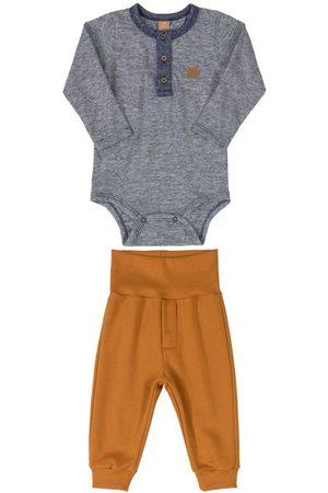 Up Baby Conjunto Body e Calça em Moletom