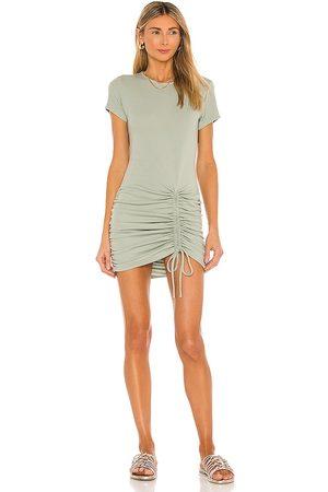 Minkpink Emery Mini Dress in Sage. - size L (also in M, S, XS)