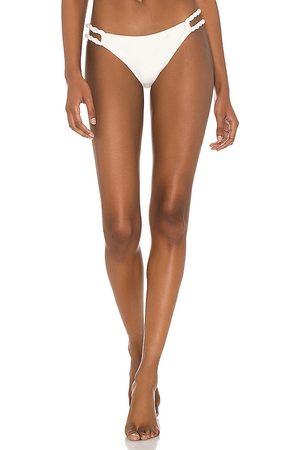 Shani Shemer Vanilla Toki Bikini Bottom in Cream. - size L (also in M, S, XS)