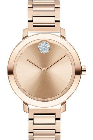 Vivara Mulher Relógios - Relógio Movado Feminino Aço Rosé - 3600650