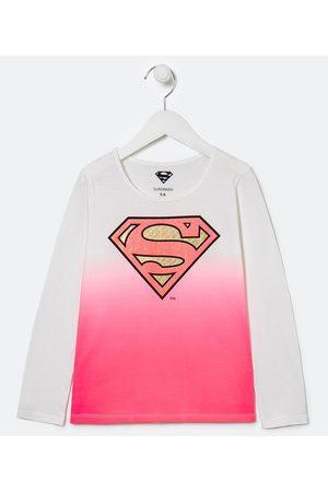 Supergirl Blusa Infantil Estampa Super Girl - Tam 5 a 14 anos | | | 11-12