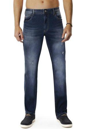 Hangar 33 Homem Calça Jeans Reta - Calça Jeans Reta Estonada