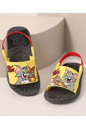 GRENDENE Sandália Infantil Tom e Jerry