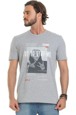Bugaloo Camiseta Manga Curta Estampada Meia Malha