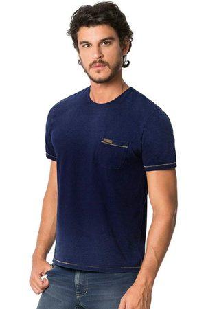 Hangar 33 Camiseta Malha Denim + Spray Marinho