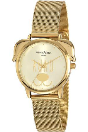 Mondaine Mulher Pulseiras - Kit de Relógio Analógico Feminino + Pulseira - 53783LPMVDE3K3