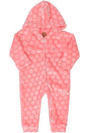 Up Baby Bebê Conjuntos de Body - Macacão Peluciado Bebê com Touca