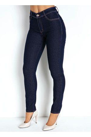 Sawary Jeans Mulher Calça Legging - Calça Jeans Hot Pants Legging Sawary