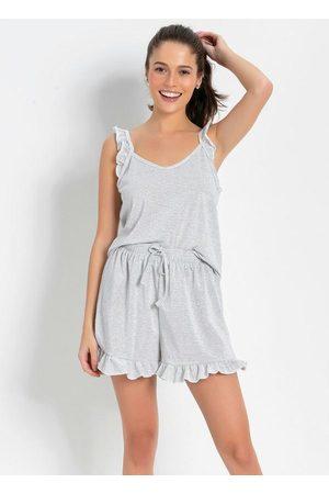 Alma Dolce Mulher Pijamas - Pijama Curto Listras