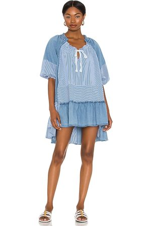 Free People Keegan Tunic in Blue. - size L (also in M, S, XS)
