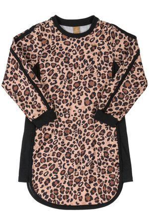 Up Baby Menina Vestido Estampado - Vestido Infantil Animal Print