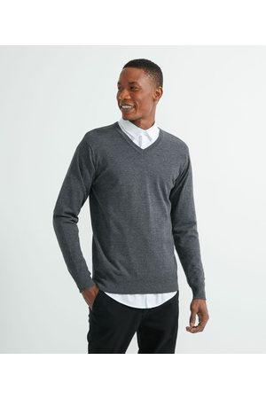 Marfinno Suéter Tricot Comfort com Gola V | | | P