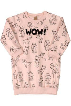 Up Baby Vestido Infantil Manga Longa