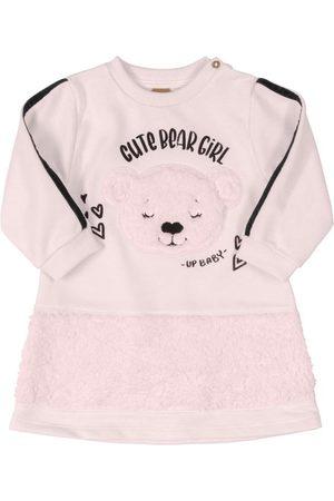 Up Baby Vestido para Bebê de Manga Longa