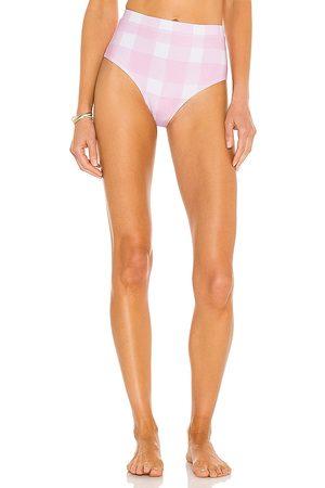 Solid Lilo Bikini Bottom in Blush. - size L (also in M, S, XS)