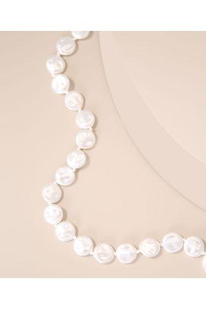 C&A Mulher Colares - Colar de Pérolas Off White