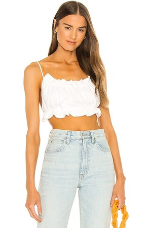Bardot Barely There Top in White. - size L (also in M, S, XS)