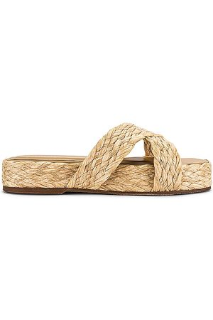 KAANAS Inagua Sandal in Neutral. - size 10 (also in 6, 7, 8, 9)