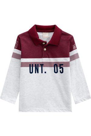 MILON Camisa Polo Infantil Masculina Mescla