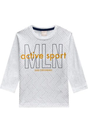 MILON Camiseta Infantil Masculina Mescla