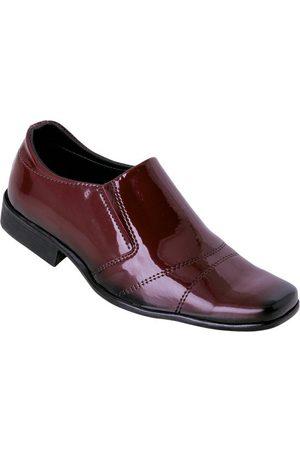 Perfecta Homem Calçado Social - Sapato Bordô em Verniz