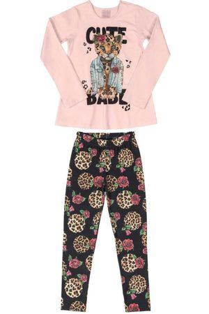 Quimby Menina Sets - Conjunto Infantil Animal Print