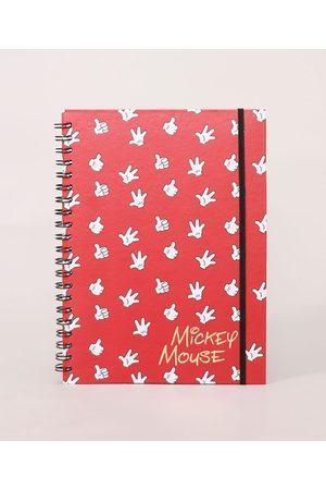 Disney Mulher Capa - Caderno Mickey com Pauta Capa Dura com Elástico