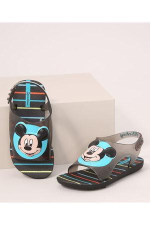 Ipanema Papete Infantil Love Disney Mickey Preta