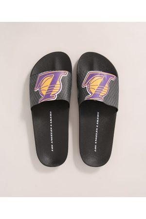 Rider Homem Chinelos - Chinelo Masculino Slide NBA Lakers