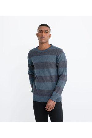 Marfinno Homem Cardigã - Suéter Tricô Comfort Listrado | | | M