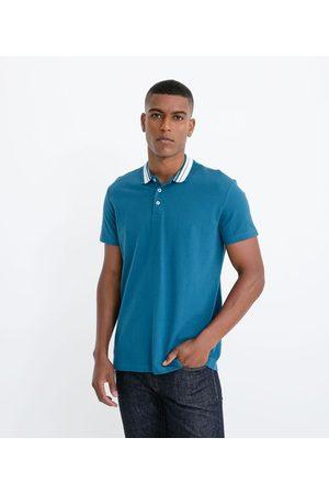 Marfinno Homem Camisa Pólo - Polo Manga Curta com Textura Fit Regular | | | P