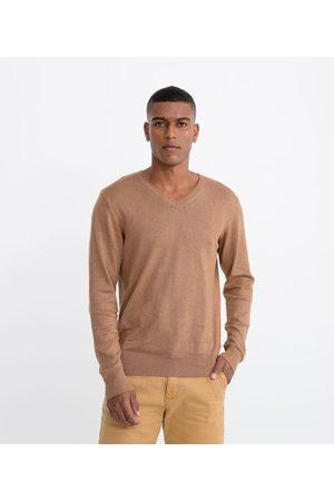 Marfinno Homem Cardigã - Suéter Tricot Comfort com Gola V | | | G