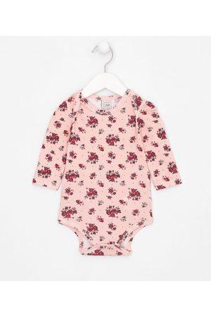Teddy Boom (0 a 18 meses) Criança Body - Body Infantil Estampa Floral - Tam 0 a 18 meses | | | 0-3M