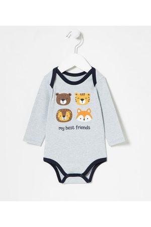 Teddy Boom (0 a 18 meses) Criança Body - Body Infantil Estampa de Bichinhos - Tam 0 a 18 meses | | | 3-6M