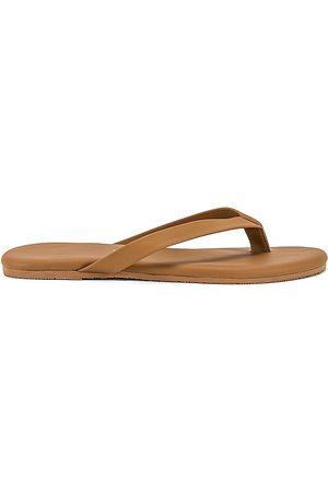 TKEES The Boyfriend Flip Flop in Tan. - size 10 (also in 5, 6, 7, 8, 9)