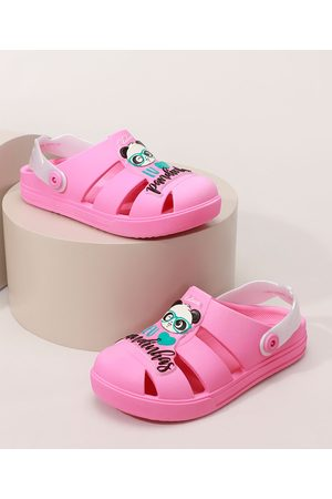 GRENDENE Menina Sapatos - Babuche Infantil Luluca Shine Confort Pink