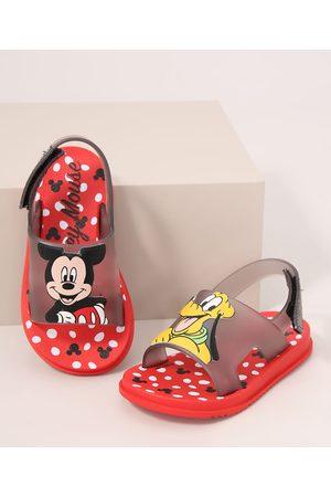 GRENDENE Papete Infantil Turma do Mickey Vermelha