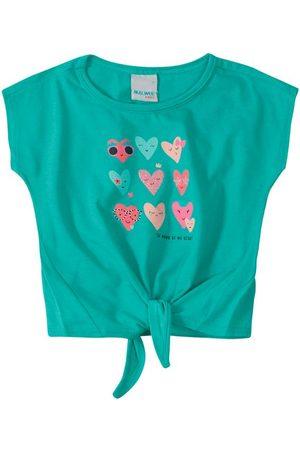 MALWEE KIDS Blusa Corações com Amarração Menina