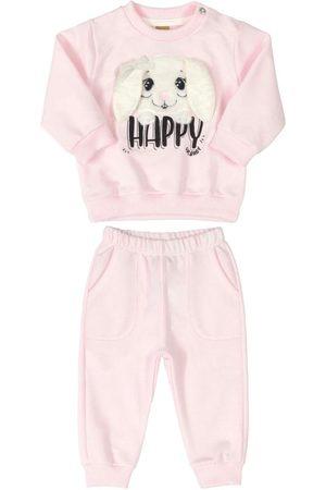 Up Baby Conjunto Blusão e Calça Happy