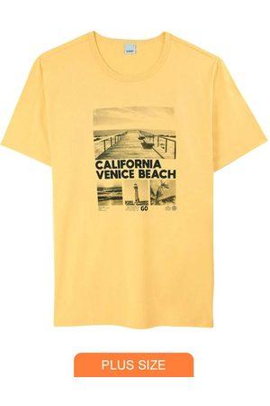 Wee Malwee Camiseta Amarela Tradicional Venice Beach
