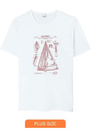 Wee Malwee Camiseta Branca Tradicional Veleiro