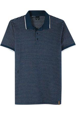Malwee Camisa Marinho Polo Slim Listrada