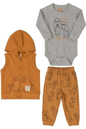 Up Baby Kit Body, Colete e Calça