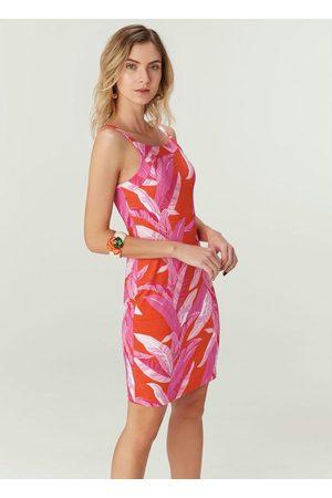 Malwee Vestido Estampada Tropical em Viscose