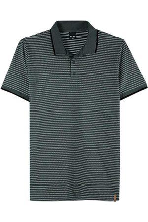 Malwee Camisa Chumbo Polo Slim Listrada