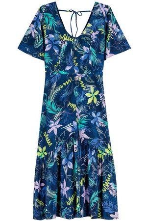 ENFIM Vestido Mídi Tropical